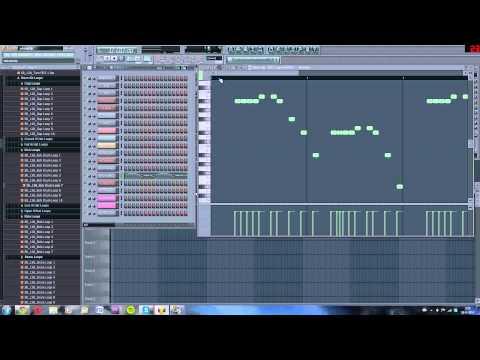 Martin Garrix - Wizard (Tutorial of the tune of the drop in FL Studio)