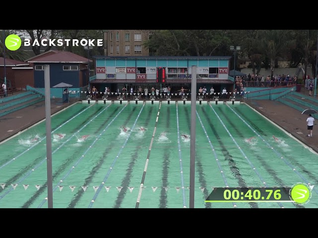 #201 Mixed 100 LC Meter Freestyle Heat 1 of 15