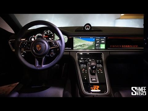 Inside the New Panamera - High Tech Infotainment