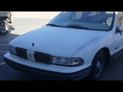 1991 Oldsmobile Custom Cruiser 6.0 LS Swap Driving on