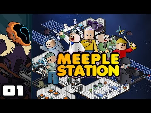 Lets Play Meeple Station Early Access - PC Gameplay Part 1 - Capitalism Ho