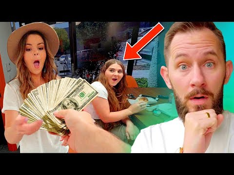 Giving Someone $1000 BUT They Have To Spend It In 24 Hours!
