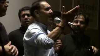 Ali Zia Rizvi @ Anjumane Farough E Aza in Mohammadi Trust Centre, London