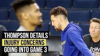 nba-finals-thompson-encouraged-details-injury-concerns