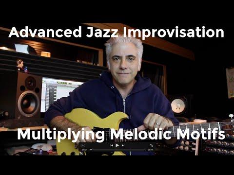 Jazz Improvisation Multiplying Melodic Motifs | Montgomery, Metheny and Coltrane