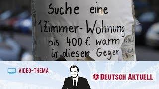 Albtraum Wohnungssuche | Deutsch lernen mit Videos