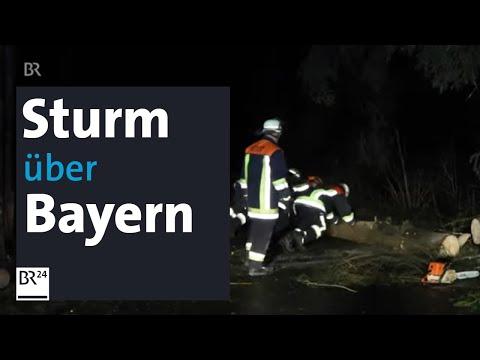 Hochwasser Und Sturm In Bayern - Viele Rettungseinsätze   BR24