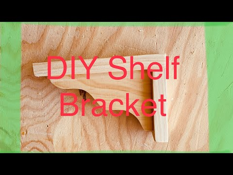 DIY Shelf Bracket