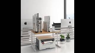 프린터 선반 사무실 책상 수납 복사기 ㄷ자 모듈선반