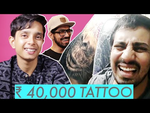 Rs 4,000 Tattoo Vs Rs 40,000 Tattoo