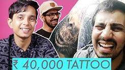 Rs 4,000 Tattoo vs Rs 40,000 Tattoo