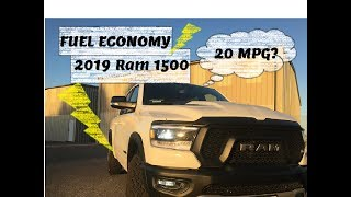 2019 RAM REBEL Fuel Economy PROOF!