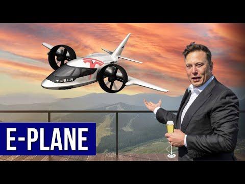 Elon Musk Revealed Tesla Electric Airplane