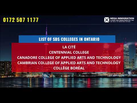 List Of Sds Colleges In Canada Sds Canada According To Provinces Youtube
