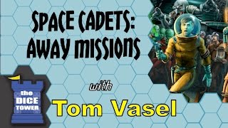 Space Cadets Away Missions Review - with Tom Vasel