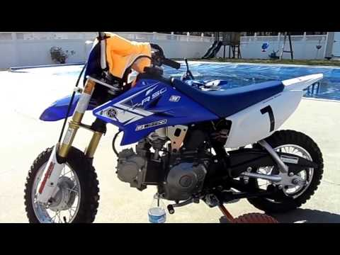 2013 Yamaha TTR50 Cleaning the Carburetor Jets