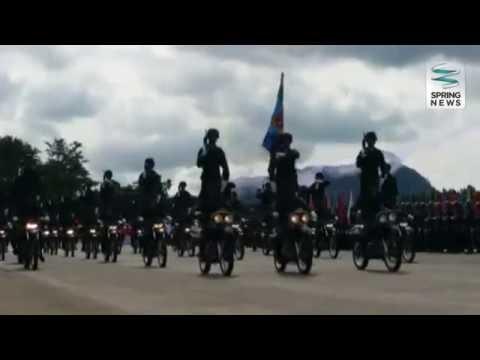 ทหารร่วมสวนสนามอำลาเกษียณราชการปลัดกลาโหม  Springnews