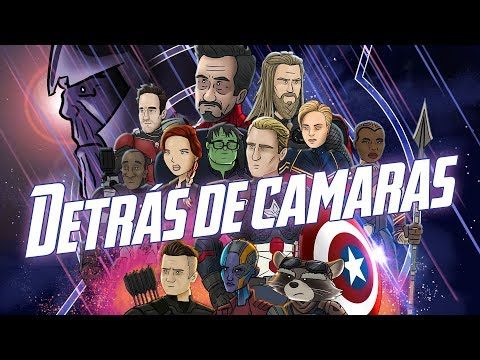 HISHE de Los Vengadores Endgame - Detrás de Camaras
