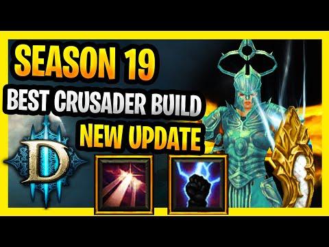 Best Crusader Build Season 19 Diablo 3 Build Aegis of Valor : Heavens Fury / Fist of The heavens