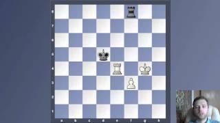 Уроки шахмат.Ладейный эндшпиль борьба с лишней пешкой.Ничейное правило 5. Лишняя пешка  С D E F.