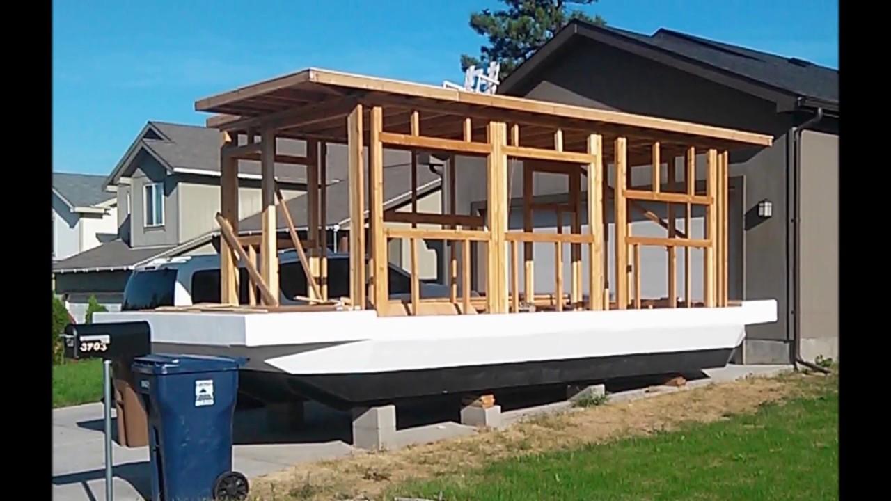 Houseboat Build Vol 1 Youtube