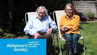Audrey and Alan's story of living with vascular dementia - Alzheimer's Society