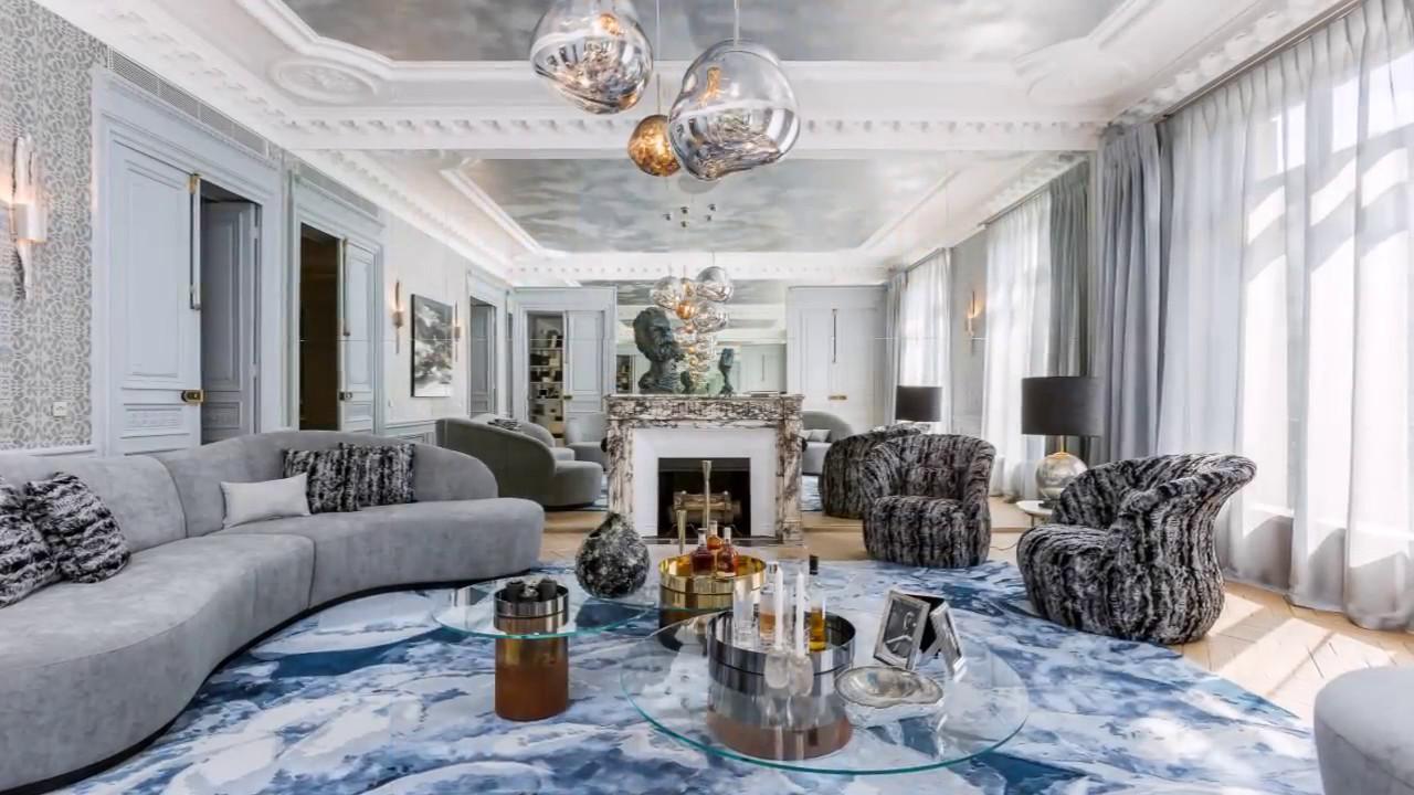 Appartement de luxe  Paris Arc de Triomphe  YouTube