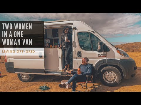 Accommodating GUESTS in VAN LIFE |  Solo Female LIVING OFF GRID