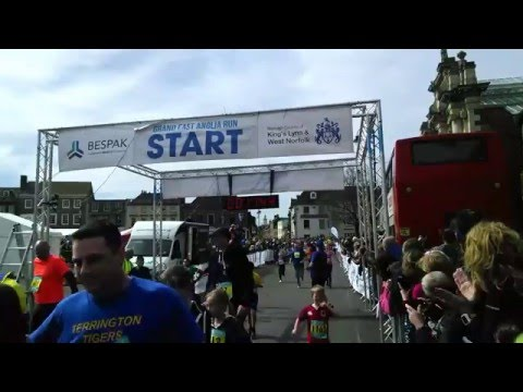 Grand East Anglia Run (GEAR) 2016 10K AND MINIGEAR LIVE FEED