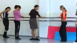 002  Урок классического танца для детей 6 8 лет
