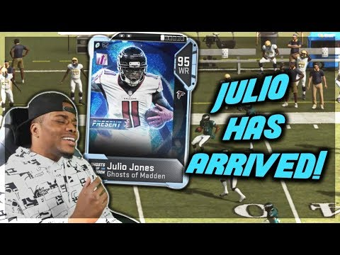 JULIO JONES GHOST OF MADDEN EDITION ???? | God Squad #32 | Madden 19 Ultimate Team