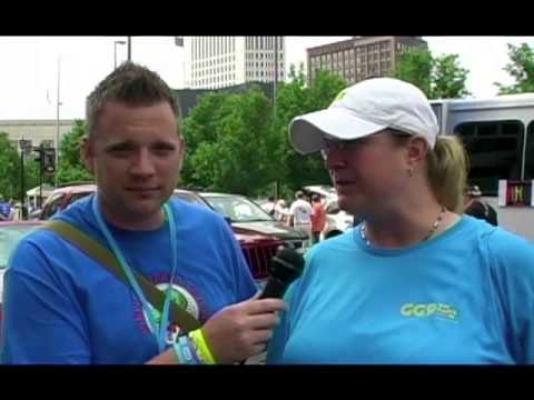 CLEVELAND PRIDE PARADE INTERVIEW - GG9 BOARD DIRECTOR CO PRESIDENT HOLLIE KSIEZYK