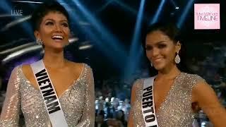 Hoa hậu H'hen Niê xuất sắc lọt Top 5 Hoa hậu Hoàn vũ 2018 (Miss Universe)