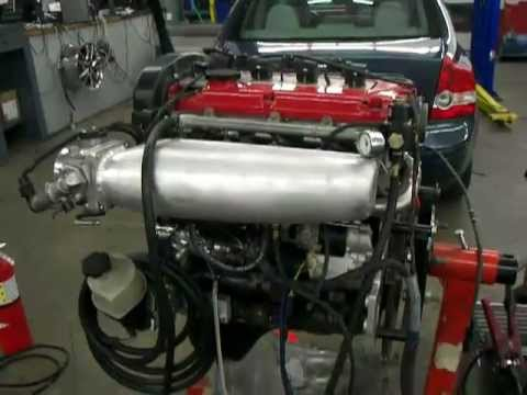 4g63 Engine modified for a RWD Application
