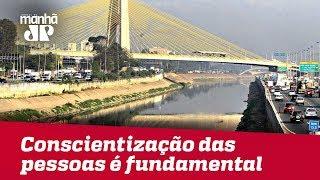Conscientização das pessoas é fundamental para despoluição dos rios
