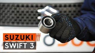 Hvordan bytte Bremsetrommel SUZUKI SWIFT III (MZ, EZ) - bruksanvisning