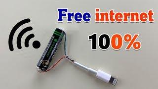 FREE W F  FREE  NTERNET 100 - HOW TO GET FREE  NTERNET 2019