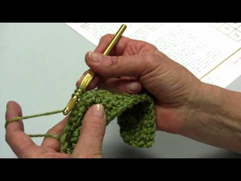 Learn How to Make Block 5 Puff Stitch of the Sampler Throw