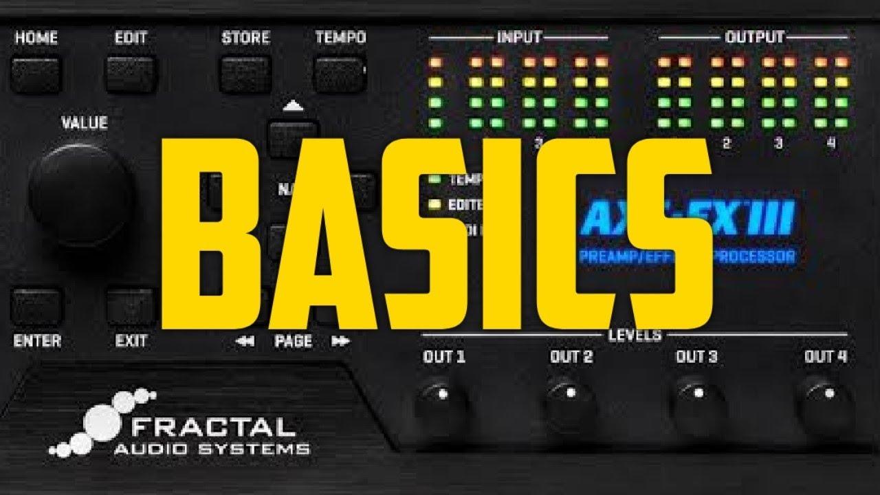 Axe-Fx III Basics - Initial I/O Setup