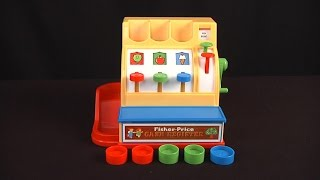 Fisher-Price Classic Toys Cash Register from Basic Fun