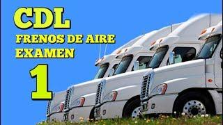 CDL Frenos de Aire #1/Preguntas del Examen Escrito DMV para licencia de manejar Camiones