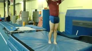 Gymnastics 7: Double Mini Trampoline