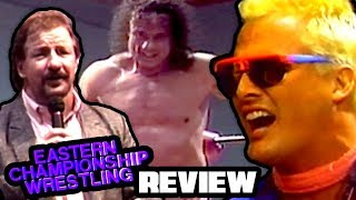 Going in Raw Reviews THE VERY FIRST ECW TV SHOW!