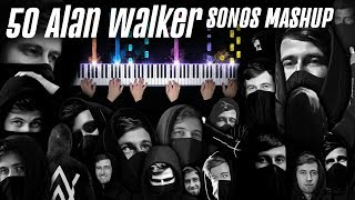 Download TOP 50 ALAN WALKER SONGS MASHUP! Faded, Darkside, Alone, The Spectre & many more (PIANO COVER)
