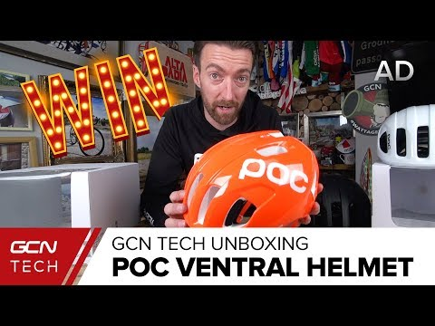 Unboxing The POC Ventral SPIN Helmet | GCN Tech Unboxing