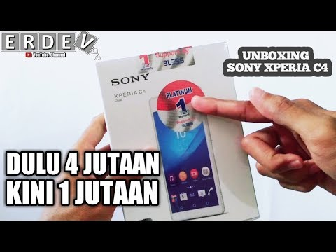 Unboxing Sony Xperia C4 Dual - Garansi Distributor