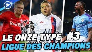 Le onze type de la Ligue des Champions #3