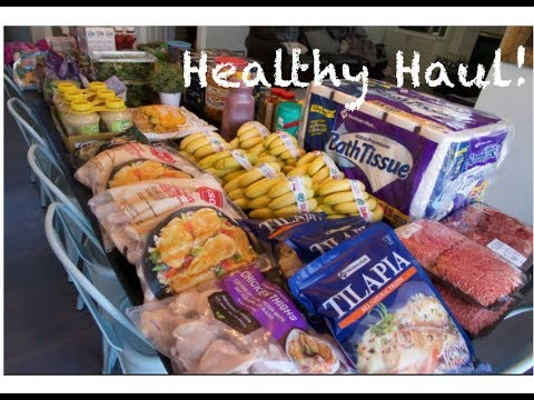 Healthy Once-A-Month Grocery Haul for our Large Family - KETO, THM, Whole  Foods