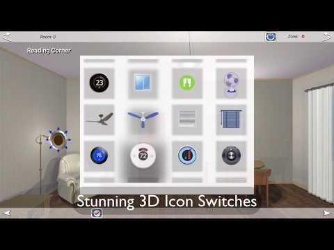 HOS Smart Home Automation Apple HomeKit for Apple TV & iPhone/iPad 30Sec
