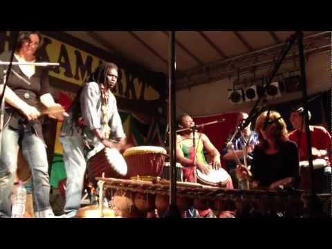 Afrikamarkt ,Steinhude 2012, Ibro Konate..